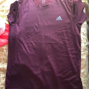 Adidas climate dry fit shirt.